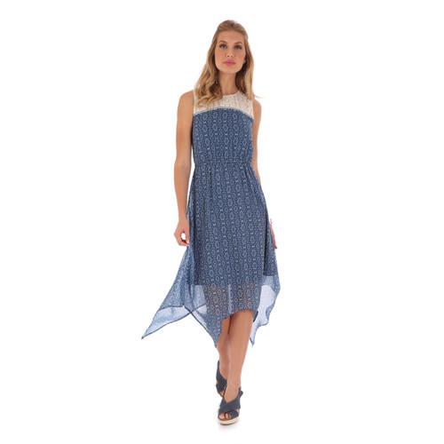 Women's Wrangler Sleeveless Dress with Crochet