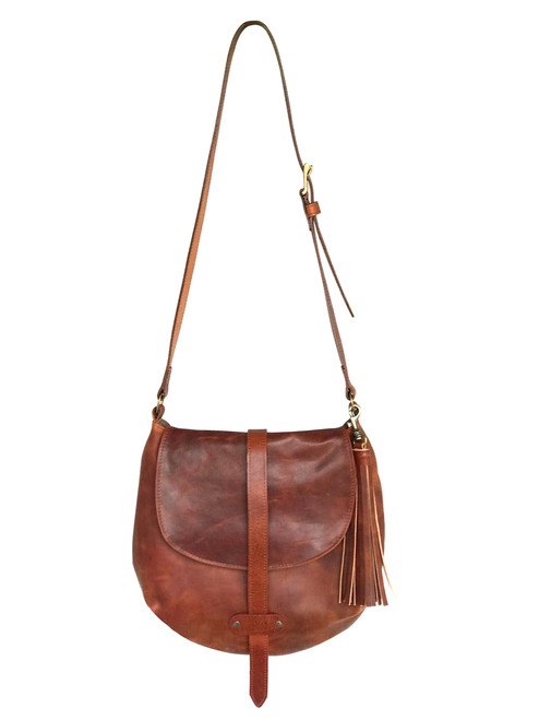 Brave Darya Rugby Leather Hobo Bag