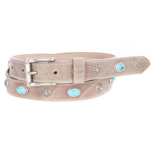 Brave Leather Lovrc Studded Belt