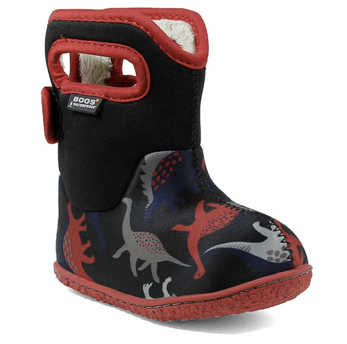 Baby Bogs Dino Black Multi Rated -10C