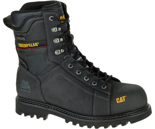 "Men's CAT Control 8"" Waterproof Composite Work Boot FREE SHIPPING"