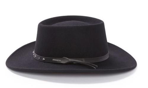Stetson Black Hawk Gambler Outdoor Hat