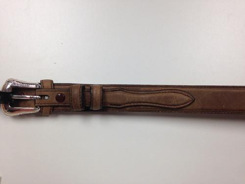 Ranger Belt Oiled Brown