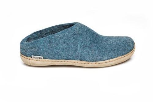 Glerups Blue Slipper
