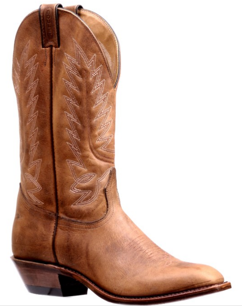 Men's Boulet Bison Western Dress Toe Western Boot