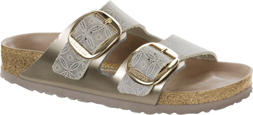 Birkenstock Arizona Big Buckle Ceramic Pattern Leather