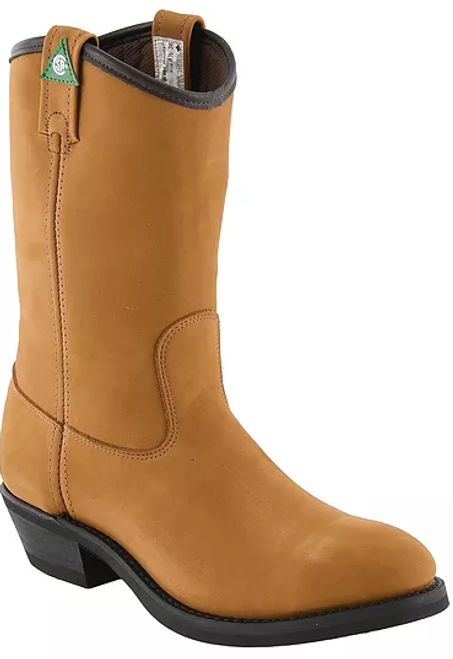 Canada West 5280 Tan Insulated CSA Western Work Boot