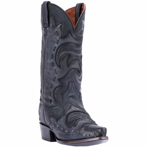 Men's Dan Post Henley Black Grey Western Boot