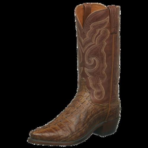 5399efb5c70 Men's Lucchese Franklin Tan Hornback Western Boot