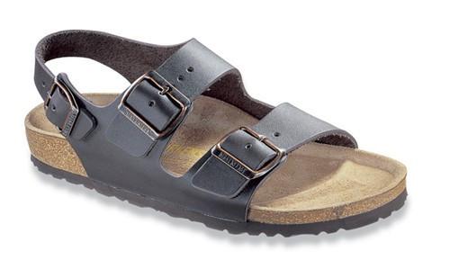 6c3a6385af9 Birkenstock Milano Sandal Dark Brown - Herbert s Boots and Western Wear