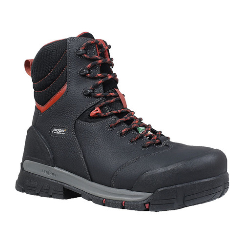 "Men's Bogs Bedrock 8"" CSA Rubber Safety Boot"