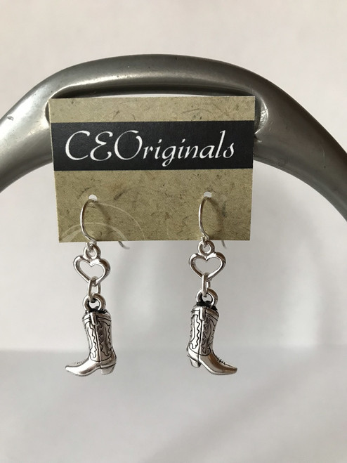 CE Originals Boots and Hearts Earrings