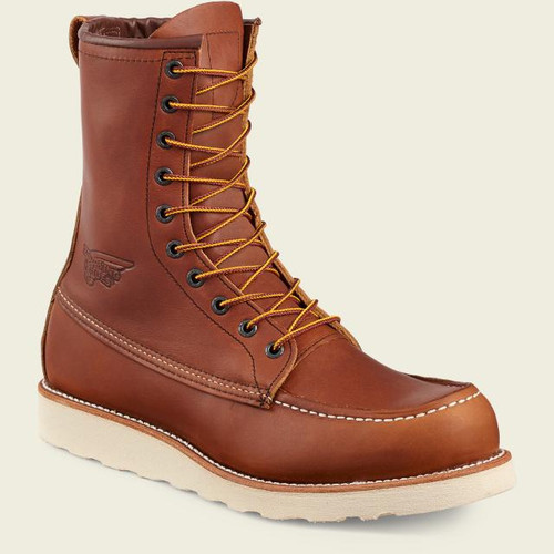 """Red Wing 10877 8"""" Moc Toe Boot"""
