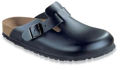 Birkenstock Boston Toed Sandal Black Leather