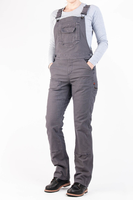 Women's Dovetail Workwear Freshly Overall Grey