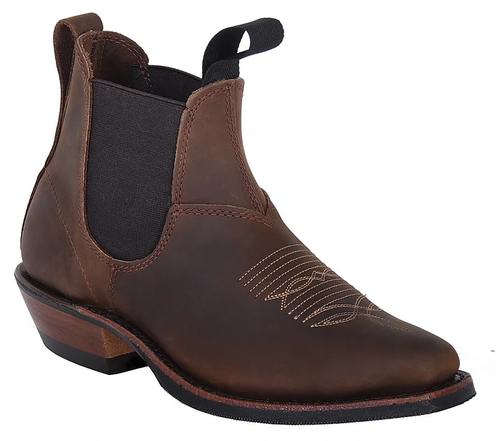 Women's Canada West Brown Romeo with Stitching