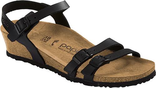 Birkenstock Papillio Lana Black Leather Sandal