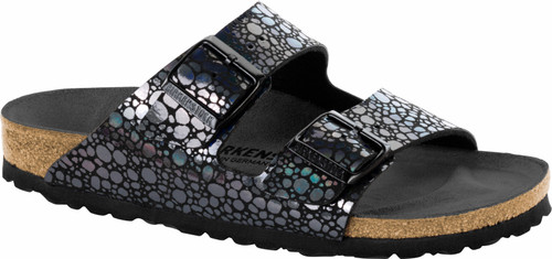 Birkenstock Arizona Metallic Stones Black Sandal