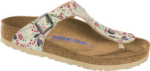 Birkenstock Gizeh Meadow Flowers Soft Footbed Sandal