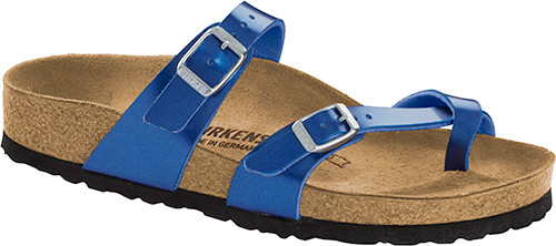 Birkenstock Mayari Electric Metallic Ocean Sandal