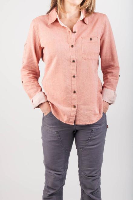Women's Dovetail Workwear Givens Workshirt Paprika