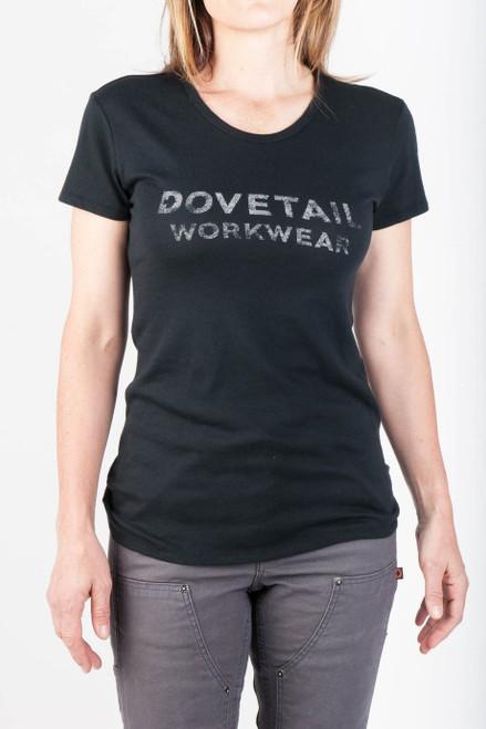 Women's Dovetail Workwear Logo Tee
