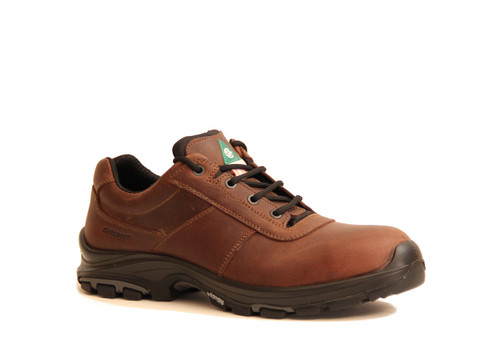 Grisport Brown Leather Work Shoes