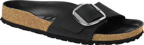 Birkenstock Madrid Big Buckle Oiled Black