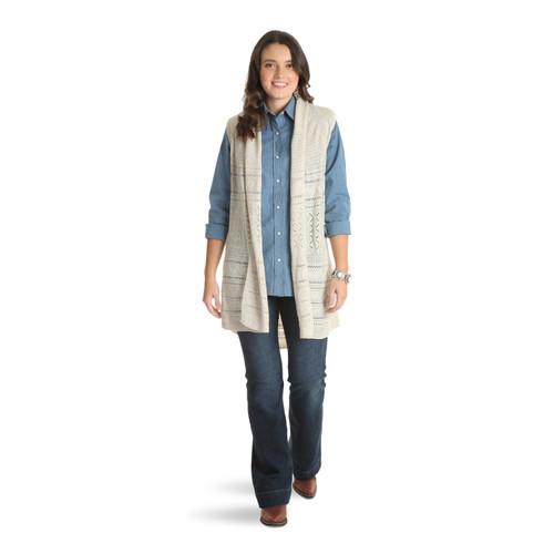 Women's Wrangler Sleeveless Sweater Duster