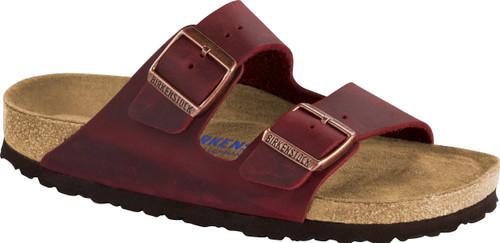 Birkenstock Arizona Zinfandel Oiled Leather Soft Footbed