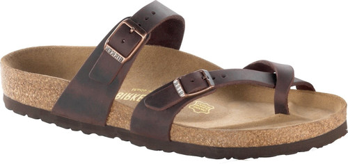 Birkenstock Mayari Havana Oiled Leather Sandal