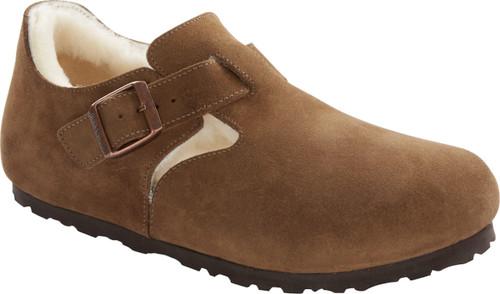 Birkenstock London Mink Suede Shearling Shoe