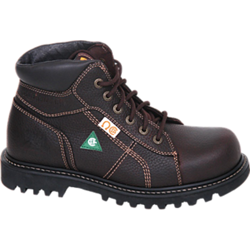 "CAT 6"" Confine Brown Safety Boot"