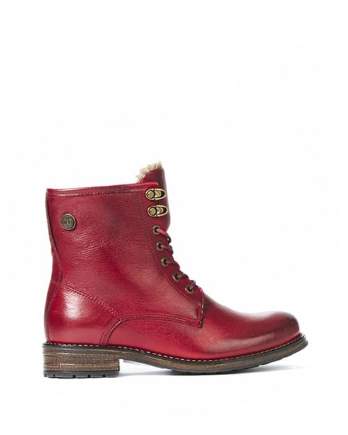 Women's Bulle Olibem Red Winter Boot