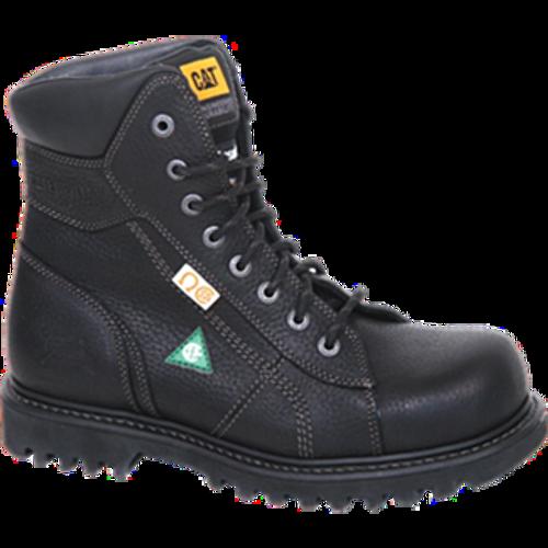 "CAT  8"" Confine Black Safety Boot"