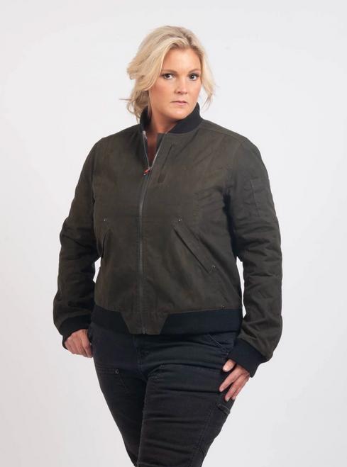Women's Dovetail Workwear Evaleen Olive Jacket