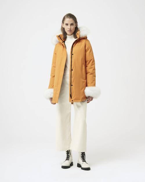 Women's Quartz Co. Tundra Sunflower Coat