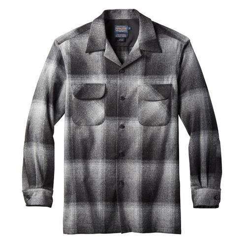 Men's Pendleton Charcoal Ombre Longsleeve Board Shirt
