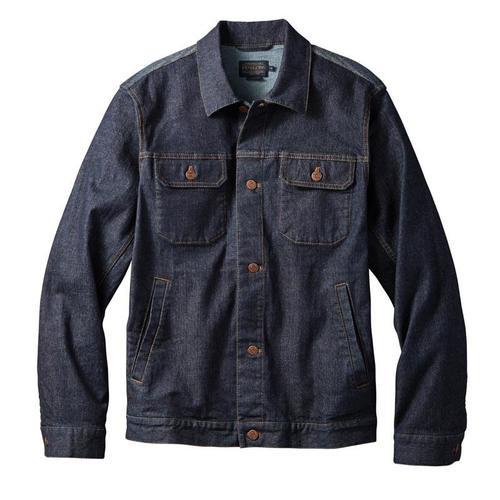 Men's Pendleton Magic Valley Denim & Wool Jacket