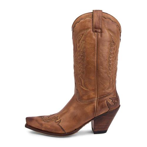 Women's Sendra Tan High Heeled Western Boots