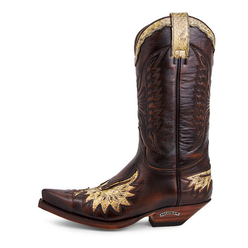 Men's Sendra 7106 Antique Jacinto with Python Western Boot