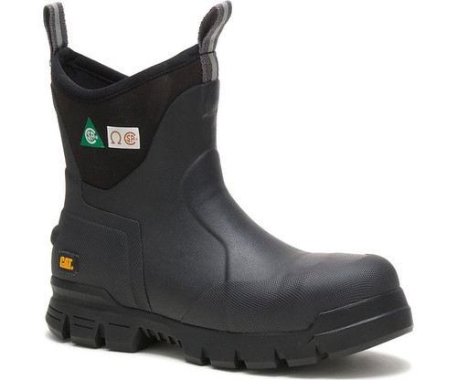 """CAT Stormers 6"""" CSA Rubber Work Boots"""