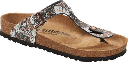 Birkenstock Gizeh Boho Flowers Navy Sandal