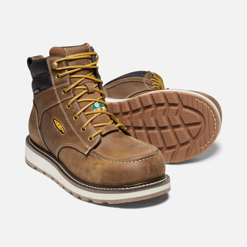 """Men's KEEN CSA 6"""" Cincinnati Waterproof Work Boot"""