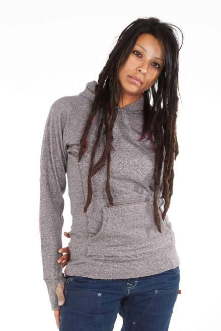 Women's Dovetail Pullover Hoody Grey Heather Sweatshirt