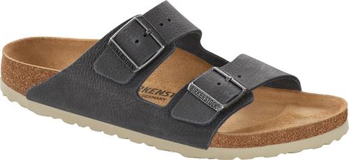 Birkenstock Arizona Steer Soft Gray Leather Sandal