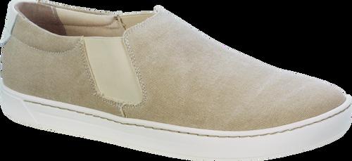 Birkenstock Barrie Canvas Sand Slip-On Shoe