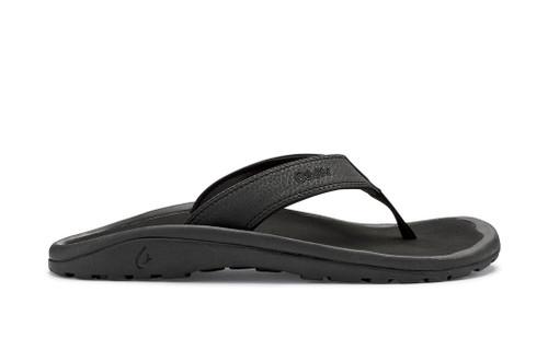 Men's OluKai 'Ohana Black Beach Sandal