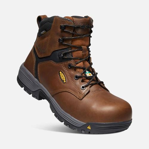 """Men's KEEN CSA Chicago 6"""" Waterproof Work Boot"""