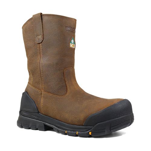 Men's Bogs Bedrock Wellington CSA Pull On Work Boots